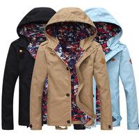 Spring loaded male Jacket Mens jacket spring self-cultivation jacket leisure jacket