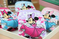 Cotton underwear wholesale of the girls Mouse cartoon children's boxers panties briefs underwear
