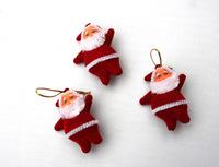 1200PCS -Santa Claus  hanged _ Christmas festival doll  accessories wholesale