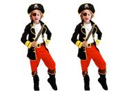 Free shipping new Kids Caribbean Cosplay Costume Halloween Christmas Gift