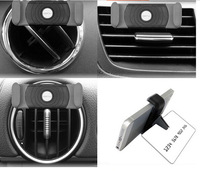 2014 hotnew 2ps Car Air Vent Mount Cradle Stand Safe Phone Holder For iphone 5 Wholesale 1 pcs Car phone holder