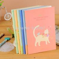 50PCS Korean Stationery Cute Cat Birds Squirrel Memo Pad Notepad Creative Diary A5 Notebook