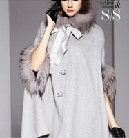 2014 new winter coat woolen cloak woolen coat long fall and winter clothes NDX137 Y9W