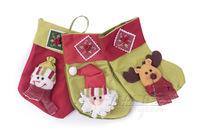 5pcs/lot 2014 New Year Christmas Decoration Santa Claus Ornament Gifts Christmas Stockings