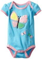 Girl's Butterfly  romper cotton jumpsuit  New arrive Newborn  summer romper  Baby Boy Clothes 5pcs/lot -ZQZ279C