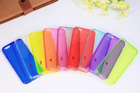 2014 Ultra thin 0.3mm TPU Gel Clear Case Transparent Back Cover for iPhone 6 500pcs/lot Free Shipping