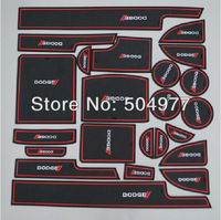 Non- slip Interior door pad/cup mat door gate slot mat for  Journey 2013, 23pcs/lot,free shipping, auto accessories