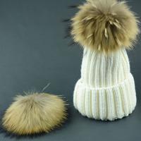 2014 New Fashion Women Winter Warm hat  fur Knitted Hats adjustable  Twist Lady's Headwear Delicate IN Stock 4 Color