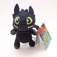 New Arrival How To Train Your Dragon 2 Toothless dragon Plush Toy Night Fury PP Cotton Stuffed Doll Alien Flye 10PCS/LOT