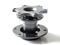 Universal Black Dexterous Quick Adapter, Racing Steering Wheel Bottom , Quick Release-Car Styling