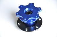 Universal Blue Dexterous Quick Adapter, Racing Steering Wheel Bottom , Quick Release-Car Styling