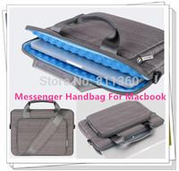 "Newest Shoulder Messenger Handbag For Macbook Laptop AIR PRO 11.6"",13.3"",15.4 inch, Protecter Case,  Free Shipping"