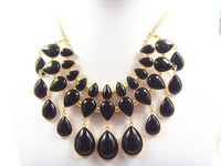 genuine jewelry full crystal drop necklace new fashion 2014