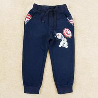 New arrival 5 Pieces/ Lot Boys pants Printed Frozen Cartoon Olaf pants for children boy Casual design trousers B5382D