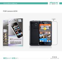 Lenovo A316 phone case,Original NILLKIN Super HD Anti-fingerprint or Matte Scratch-resistant Screen protector For Lenovo A316