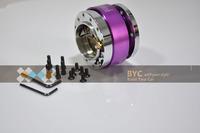 Universal Purple MOMO Quick Release, Racing Steering Wheel Quick Release,Steering Wheel Adapter-Car Styling