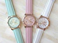 GENEVA Watch 2014 New Fashion Quartz Watches Female Hours Clock Wrist watch High Quality GENEVA Free Shipping