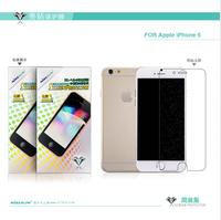 Original NILLKIN Bright diamond Super HD Anti-fingerprint Screen protector For Apple iPhone 6 phone case