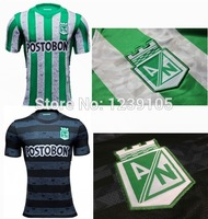 Top! Best Thai Quality 14/15 atletico nacional Soccer Jerseys,atletico nacional 2015 Jerseys,embroidery LOGO,free shipping