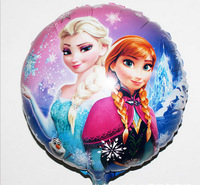 Wholesale 50 PCS/lot of 18 inches foil balloons, balloon, cartoon frozen balloon children gift free shipping