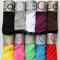 Wholesale Sexy Modal and Cotton Men's Underwear Boxers Underwear Boxer Shorts Men Fashion 2014 Short Cueca Calvin
