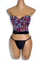926 Sexy women waist training corset Sweets Studded Gem B Cup Bustier Bra Body Shapewear Bustier cincher bustier corselet