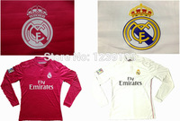 New Top! Best Thai Quality 14/15 Real Madrid long sleeve Soccer Jerseys,Real Madrid long sleeve 2015 Jerseys shirt