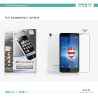 100% Brand NILLKIN Super HD Anti-fingerprint or Matte Scratch-resistant Screen Protector For Coolpad 8675 F2 Phone case