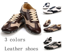 New 2014 Autumn Fashion Casual Mens Shoes Men Sneakers For Men's Shoes Driving Shoes Boat Special Materials PU leather 39-44