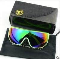 2014 new fashion VZ colorful mirror reflector goggles sunglasses  cycling eyewear G1304