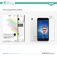 Origina NILLKIN Super HD Anti-fingerprint or Matte Scratch-resistant Screen Protector For Coolpad 8675 F2 Phone case