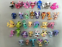 Wholesale - 2014 New different pvc figures,  LPS Animal Collection toy,  children Toys Dolls,kids gift ,little puppets 50pcs