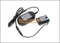10Sets/Lot Camera AC Adapter DMW AC8 + DMW-DCC12 Plus Power Supply Connector for Panasonic Lumix DMC-GH3 DMCGH3 DMC GH3 Cameras