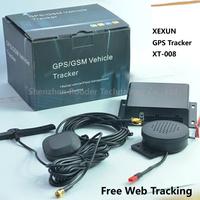 Original XEXUN High Quality Car GPS Tracker XT-008 Dual Sim Card Slot , SD Card Slot , Free Web Tracking Rastreador xt008