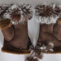 12Pairs Rabbit half finger gloves half finger gloves half finger gloves wholesale rabbit gloves wholesale Free Shipping
