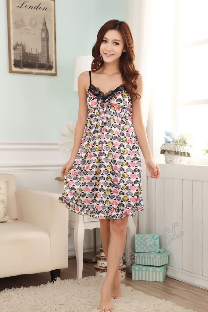 Женские ночные сорочки и Рубашки SL016 ночные сорочки you