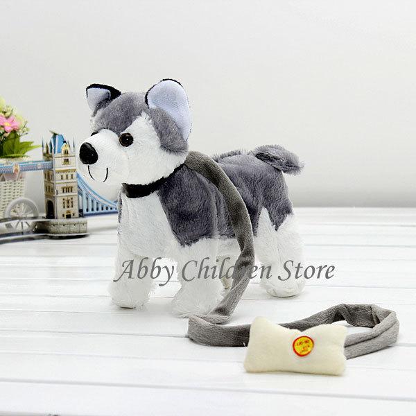 Robot Dog Singing Dancing Walking Musical Husky Electronic Pets Robot Pet Dog Toys For Children(China (Mainland))