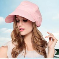 2014 summer beach hat uv protection womans sun hat uv  woman sun hat beach (about : 56-60cm)