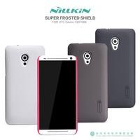 Original Nillkin Case for HTC Desire 700 7088 4 Colors Super Plastic Matte Case + Screen Protector Film, Free shipping