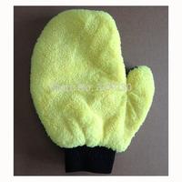 200pcs/lot car washing cleaning glove microfiber mitten free shipping