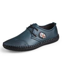 Autumn Designer European Mens Transport Shoes Cheap Leather Espadrilles Casual Youth Shoes Flat Leisure Men Sapatos Size 38 - 43