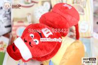 Creative M& M'S  Christmas Earmuffs M&M's plush Toys for Children Milk Chocolate Beans Cartoon figures Earmuffs Free Shipping
