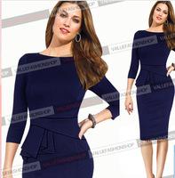 New Autumn Winter Celebrity Hot Fold Casual Slim Women Work Wear O-neck Vestidos De Renda Feminino Sexy Party Bandage Dress1055