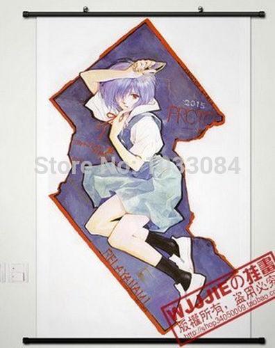 Anime Neon Genesis Evangelion EVA Home Decor Poster Wall Scroll(China (Mainland))