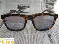 Free Shipping 2014 Designer Sunglasses Brand Name Deep Freeze Sunglasses Crazy Tort Blue Revo