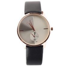 2014 New women dress watches Lady Fashion Leather strap casual luxury watch women brand watches free shipping(China (Mainland))