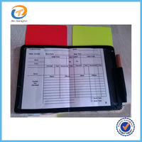 2014 2015 Soccer Football Referee Cards Wallet,Referee Wallet with Yellow and Red Warning Cards,Judge Cards 5packs/lot