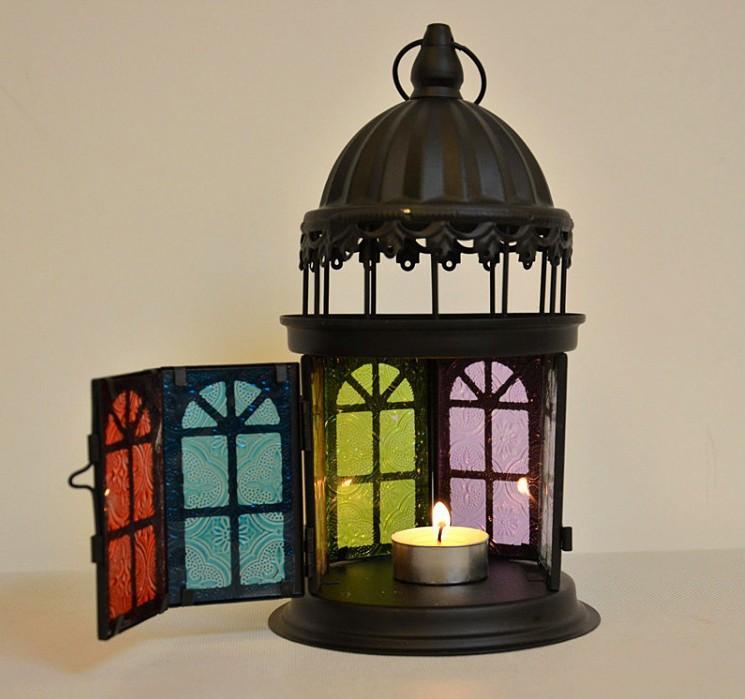 Amazoncom Gifts amp Decor Lattice Lantern Candle Holder