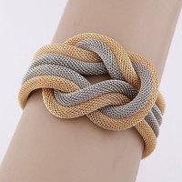 Min.Order $8.8(Mix Order) 2014 Lady Fashion Bracelet Metal Woven Charming Bracelet Free Shipping FB0001