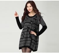 2014 large size women's 3071 Winter Classic thin dress